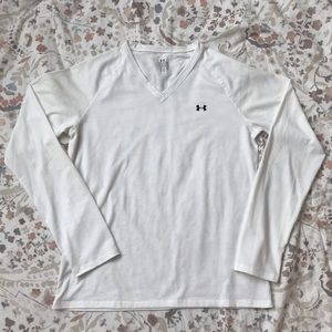 White under armour long sleeve t shirt